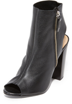 Schutz Zenna Open Toe Booties