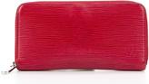 Louis Vuitton Red Epi Leather Zippy Wallet