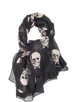 Saint Laurent Skull Shawl