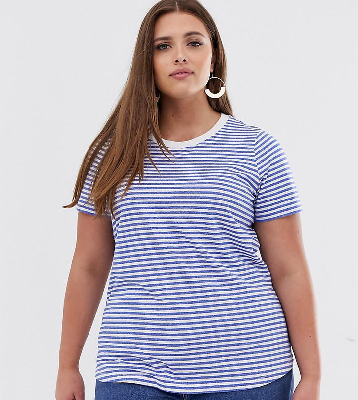 Junarose stripe ringer t-shirt