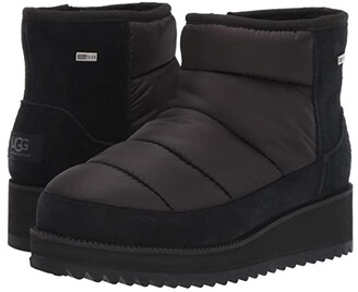 UGG Ridge Mini (Black) Women's Cold Weather Boots