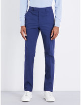 Richard James Slim-fit Linen-blend Trousers