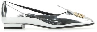 Givenchy Mystic Logo Plaque Loafers