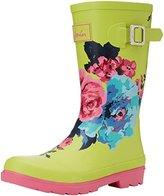 Joules JNR Girls Welly Rain Boot (Toddler/Little Kid/Big Kid)