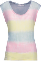 Kain Label Bruni Frayed Tie-Dyed Gauze Tank