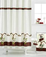 "Lenox Closeout! Holiday Nouveau"" Shower Curtain Bedding"