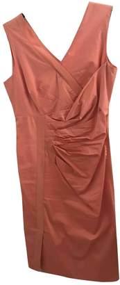 Sportmax \N Orange Silk Dress for Women