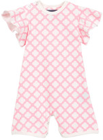 Toobydoo Lucky Pink Shortie Jumpsuit (Baby Girls)