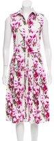 Samantha Sung Floral Printed Dress