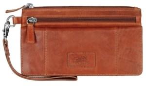 Mancini Casablanca Collection Rfid Secure Wristlet Clutch Wallet