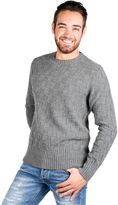 Department 5 Man Turtleneck Sweater Grey Chess