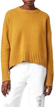 AllSaints Arun Cashmere Crewneck Sweater