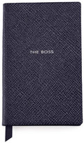 "Smythson The Boss"" Wafer Notebook, Navy"