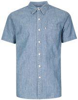 Levi's Light Blue Pocket Short Sleeve Denim Shirt