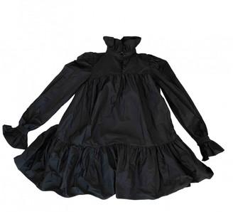 AVAVAV Black Polyester Dresses