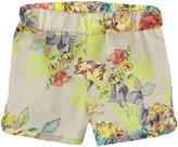 Anthem of the Ants Garden Short (Baby) - Neon Floral-12 Months