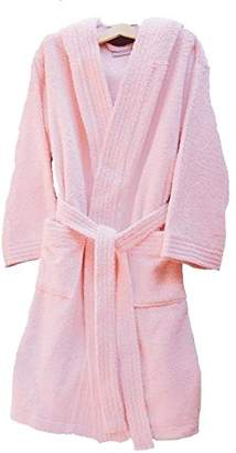 Home Basic Kids – Hooded children bathrobe, size 12 years, color Pink