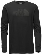 The North Face Inc Northface Men'S Half Dome Black Grey Cotton Blend T Shirt L