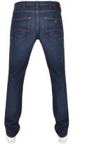Giorgio Armani Jeans J45 Slim Fit Jeans Blue