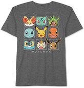 JEM Men's Pokemon Graphic-Print T-Shirt