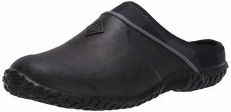 Muck Boot Muck Women's Muckster Clog with Cozy Fleece Lining Black/Grey Plaid
