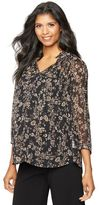 A Pea in the Pod Daniel Rainn Embellished Maternity Blouse