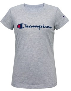 Champion Little Girls Classic Script Graphic T-shirt