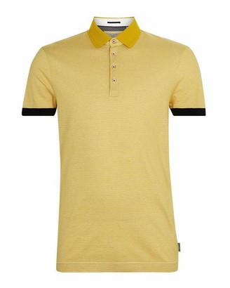 Ted Baker Delpolo Striped Cotton Polo Shirt