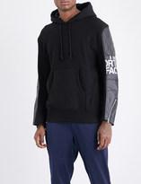 Junya Watanabe x The North Face cotton-jersey hoody