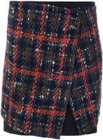 Etro plaid skirt
