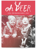 Minted Oh Deer Christmas Photo Cards
