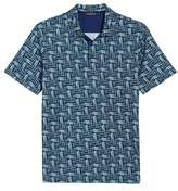 Bugatchi Classic Fit Broken Lines Polo