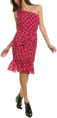 Derek Lam 10 Crosby Taula One-Shoulder Mini Dress