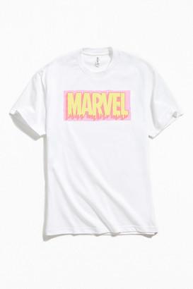 Marvel Paint Drip Logo Tee