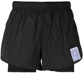"Satisfy Trail 3"" running shorts"