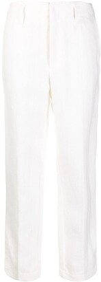 Forte Forte Low-Waist Straight Trousers