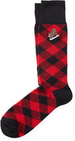 Ralph Lauren Plaid Wool-blend Trouser Socks