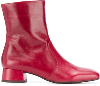Chie Mihara 40mm Squared Toe Boots