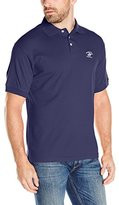Beverly Hills Polo Club Men's Solid Interlock Horse and Rider Embroidery