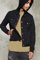 Forever 21 Hooded Denim Jacket