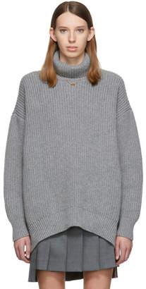 Givenchy Grey Oversized Turtleneck