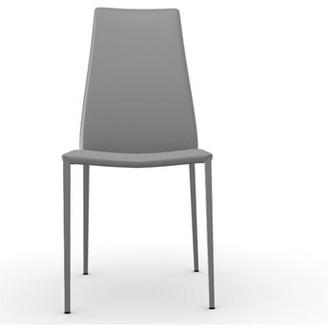 Calligaris Aida Regenerated Leather Upholstered Dining Chair Upholstery Color: Taupe