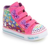 Skechers Toddler Girl's 'Shuffles - Baby Talk' Sneaker