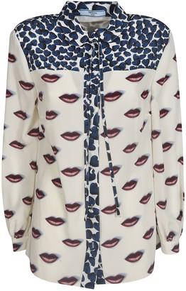 Prada Lip Printed Shirt