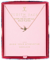 Judith Jack Charmed Life Boxed Bird Pendant Necklace