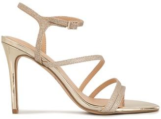 Badgley Mischka Madisson glittered sandals