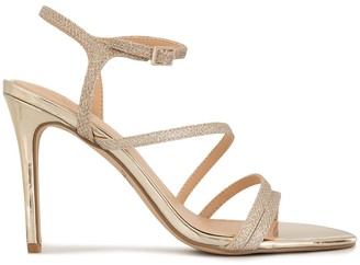 Badgley Mischka Madisson glittered sandals