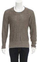 Belstaff Linen Crew Neck Sweater