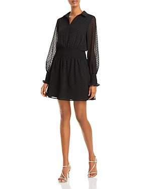 Aqua Printed Smocked Dress - 100% Exclusive