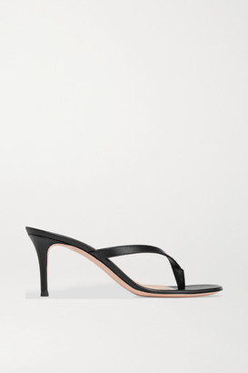 Gianvito Rossi Calypso 70 Leather Sandals